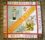 11 mai 1921 : Présentation et bénédiction du drapeau de l'Institut