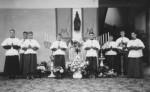22 juin 1954 : Réception solennelle d'une statue de la Vierge à l'enfant à l'occasion de l'année mariale