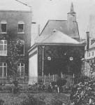 1880 : Extérieur de la salle de gymnastique