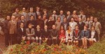 1974 : le groupe des professeurs