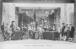 Date inconnue : Vue d'une représentation théâtrale des élèves