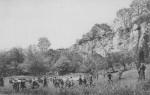 Date inconnue : Vue du parc de Saint-Fiacre